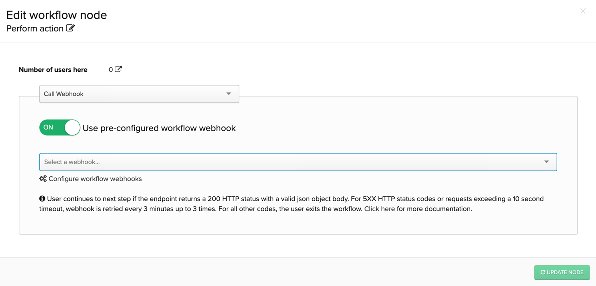 Workflow Webhooks – Iterable Support Center