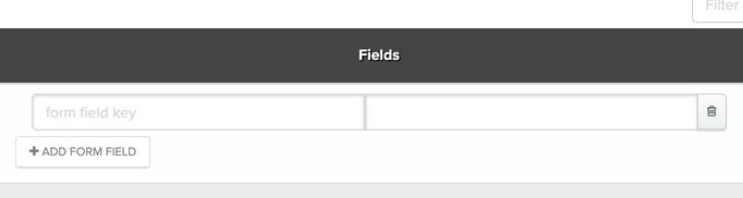 Adding form fields