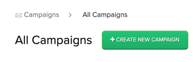 Create New Campaign button