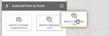 Adding a Modify Message Type node