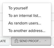 Send Proof button