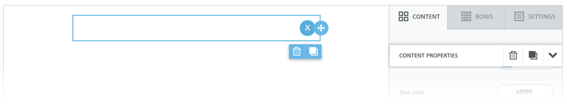 Circle close button