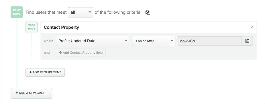 Example relative date