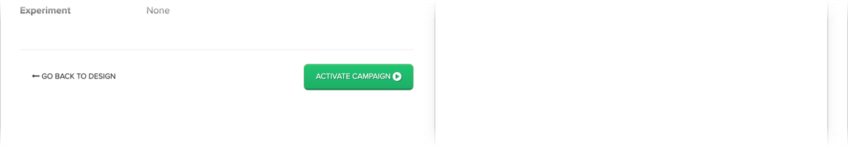 Activate the campaign